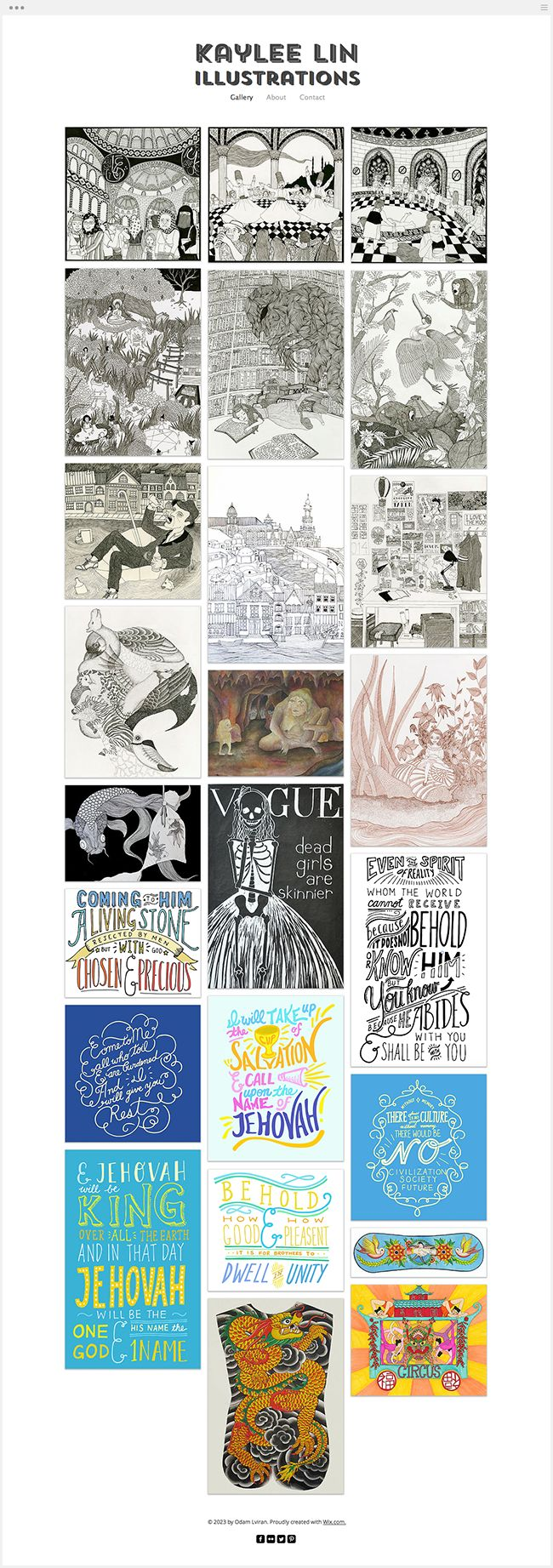 Kaylee lin Illustrations