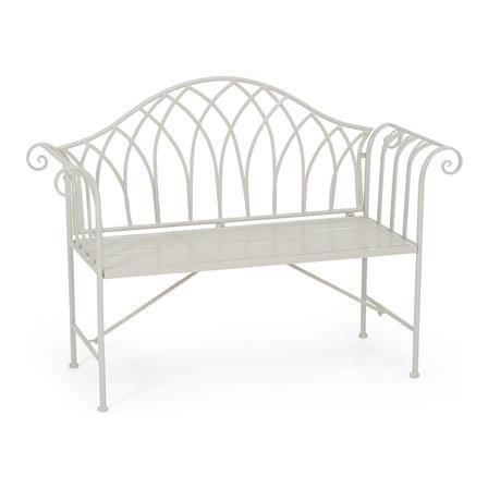 ACHICA | Devonshire Garden Victoria Bench, Grey