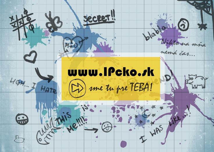 ONLINE PORADŇA PRE MLADÝCH    Sme mladé občianske združenie a svoju prácu zameriavame prevažne na cieľovú skupinu mladých ľudí. Títo žijú v dobe technológii, internetu a sociálnych sietí. Preto sme sa rozhodli ako našu prvú aktivitu rozbehnúť on-line centrum prvého kontaktu - www.ipcko.sk, kde mladým ľuďom ponúkame on-line poradenstvo prostredníctvom chatu, práve v tých oblastiach ich života, v ktorých pociťujú ťažkosti a nevedia si pomôcť vlastnými silami.