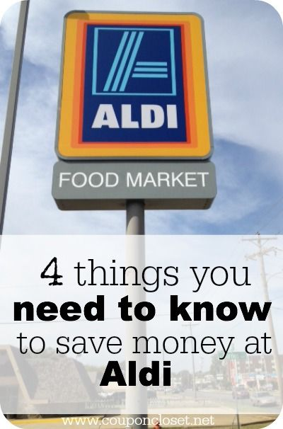 Save money on produce! Cut your grocery bill just by shopping at Aldi. Here are 4 Things you need to know before you shop at Aldi Foods.