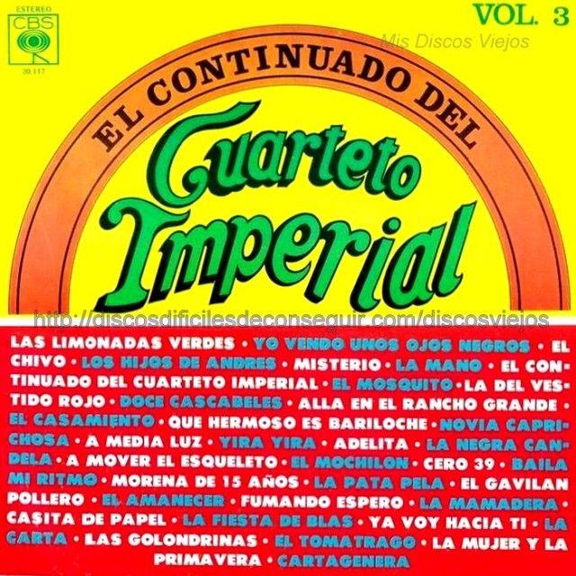 Cuarteto Imperial - El Continuado Vol.3