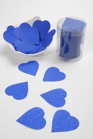 Confettis Mariage Bleu Royal