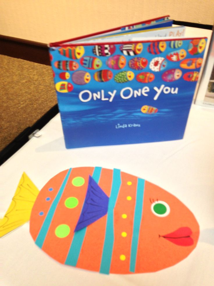Only One You, fish art project