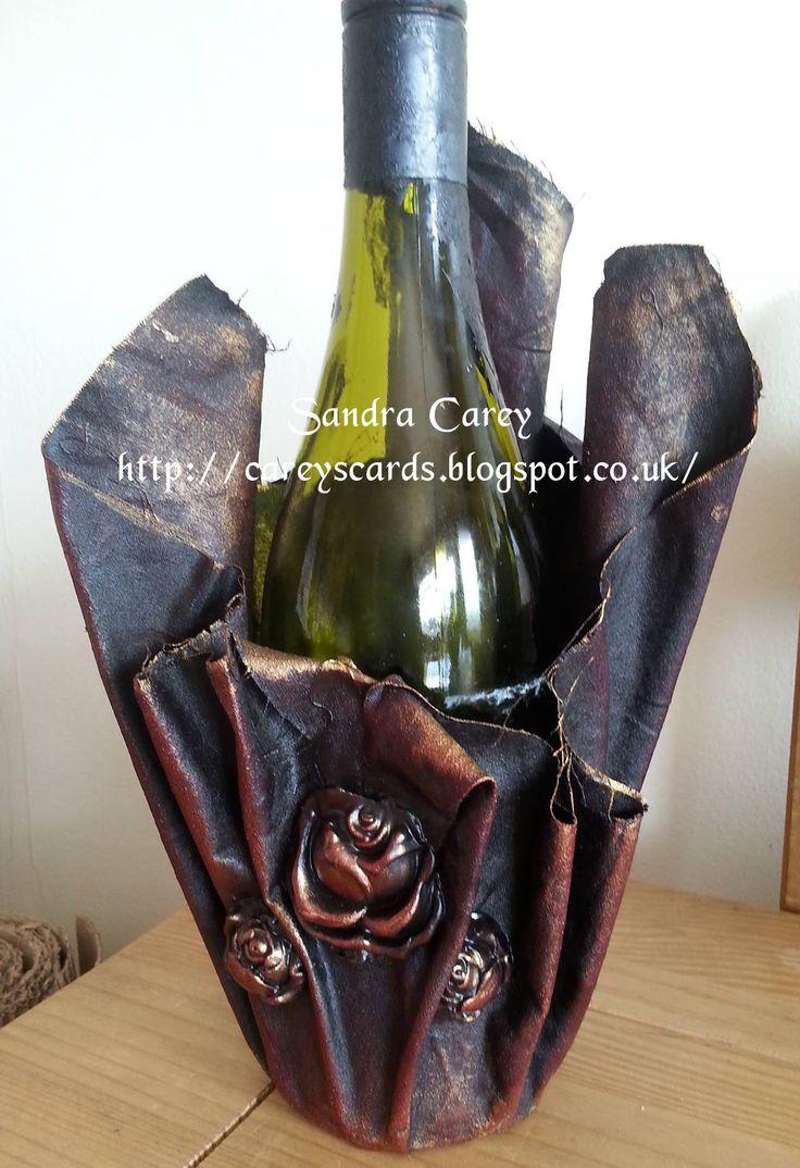 Wine bottle Holder Powertex