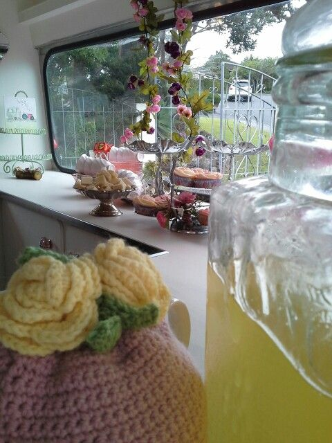 Dolly had a great day at Ruby,s fairy tea party