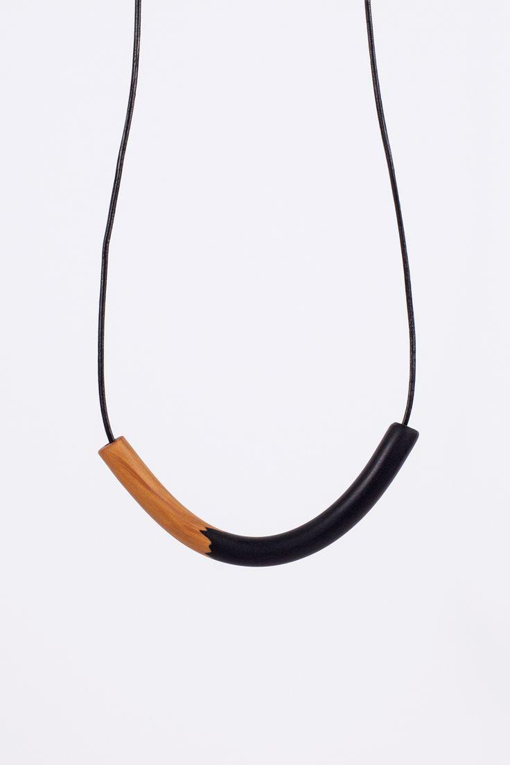 Nuria necklace - polymer clay