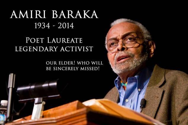 Remembering Amiri Baraka 1934-2014