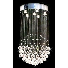 Rain drop chandelier: Crystals Chand, Chand Rain, Modern Chandeliers, Idea, Lights Fixtures, Chand Lights, Raindrop, Crystals Ball, Rain Drops