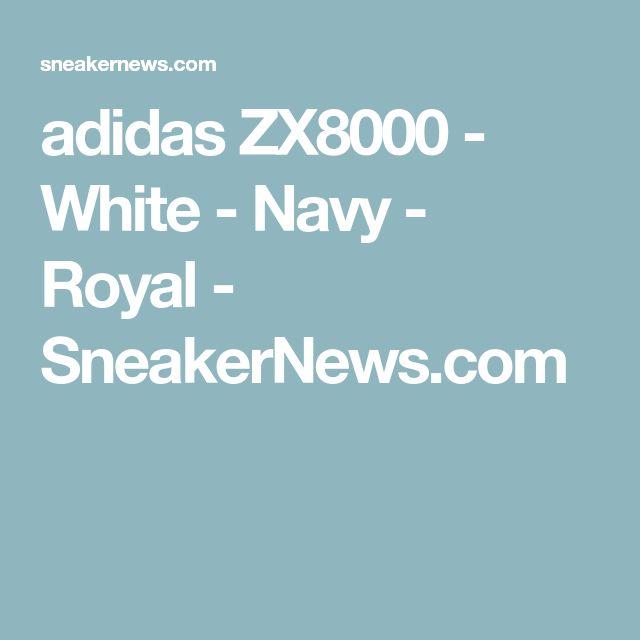 adidas ZX8000 - White - Navy - Royal - SneakerNews.com  131e0090264b