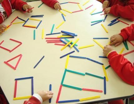 TERAPIA OCUPACIONAL INFANTIL JOHANNA MELO FRANCO: Atividade com Palito de picolé colorido para trabalhar habilidades matemáticas e percepção visual