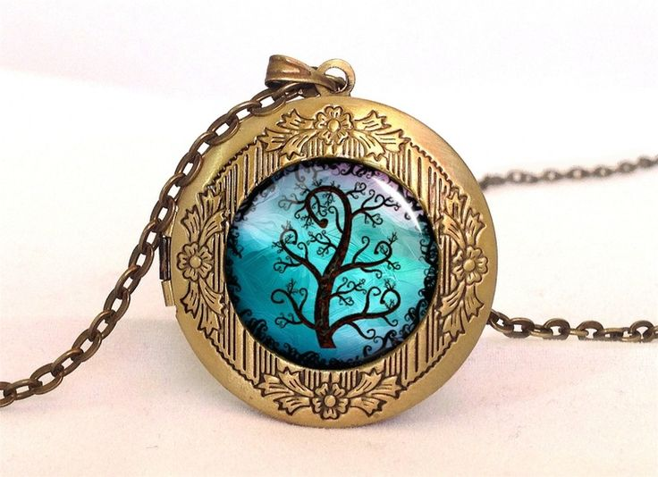 Romantic Tree Locket, 0608LPB from EgginEgg by DaWanda.com