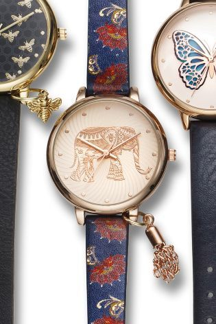 Buy Print 3D Elephant Print Watch from the Next UK online shop