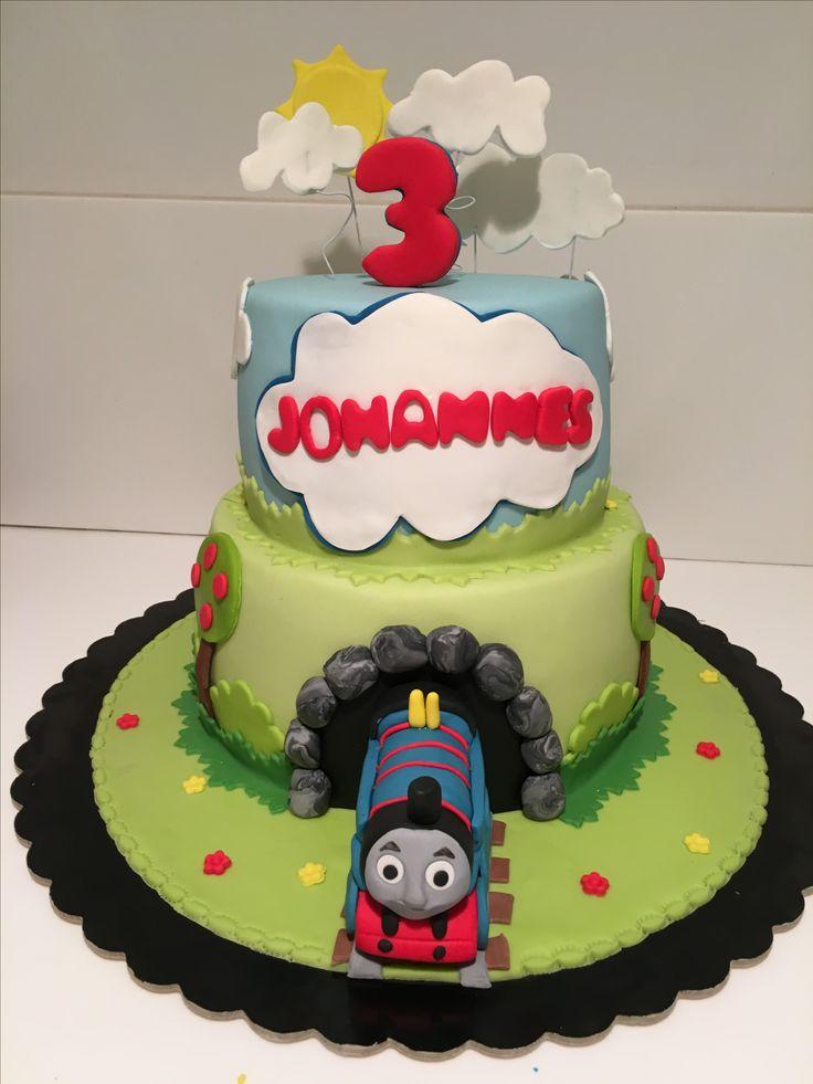 Trenino Thomas torta