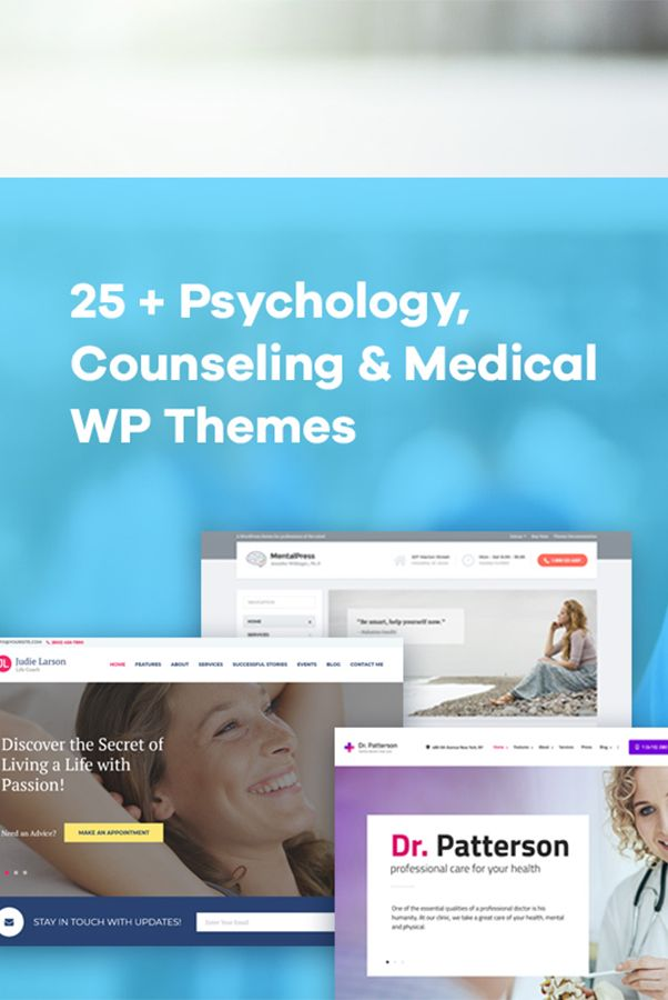 25 Psychology Counseling Wordpress Themes Worth Your Attention Colorlib Wordpress Theme Professional Web Design Counseling