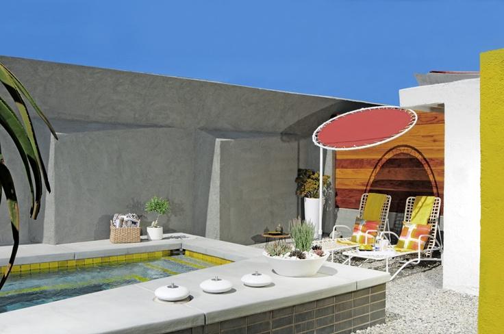 HOTEL LAUTNER: Hotel California, Pools Area, Desert Hot, Small Pools, Palms Springs, Hotels Lautner, Hotels California, Palm Springs, Hot Springs