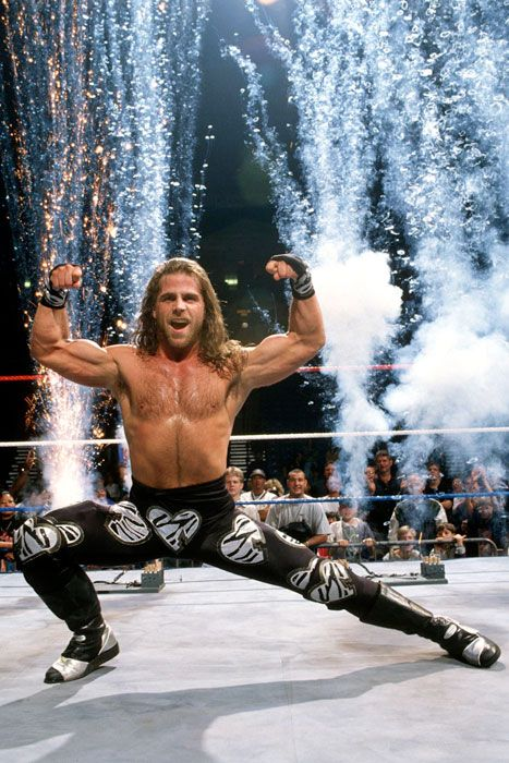 Shawn Michaels aka. The Heartbreak Kid (HBK) aka. The Showstopper aka. Mr. WrestleMania aka. The Most Honored Champion In WWE History aka. The Main Event
