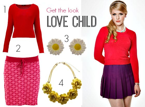 How to get the Love Child look