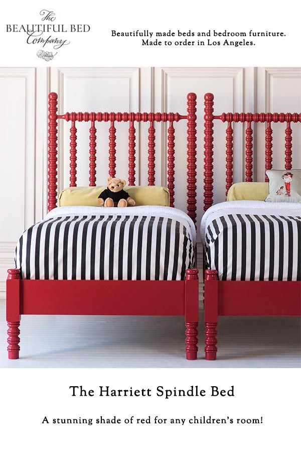 Harriett Spindle Child\'s Bed, Low Footboard in 2019 | Kid ...