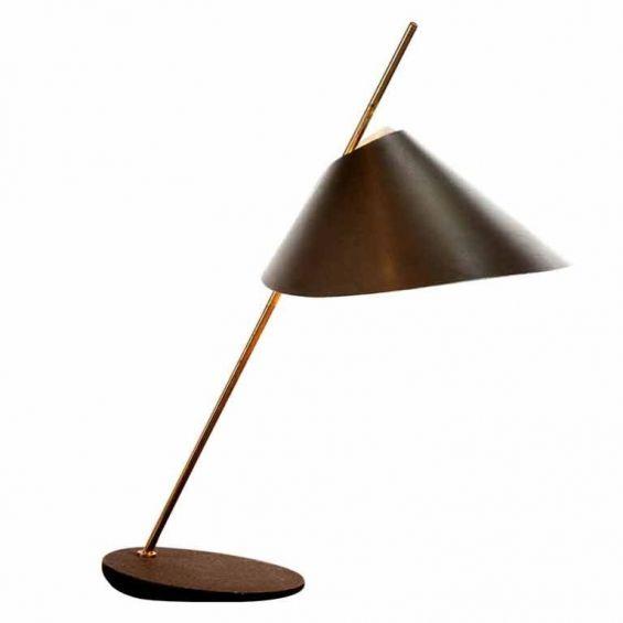 """Luigi Caccia Dominioni, """"Monachella"""" desk lamp for Azucena, 1953."""