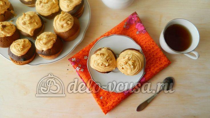 Пирожное из какао и сгущенки #пирожное #сгущенка #десерты #рецепты #деловкуса #готовимсделовкуса