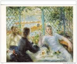 """auguste renoir """"les canotiers"""" 1879"""