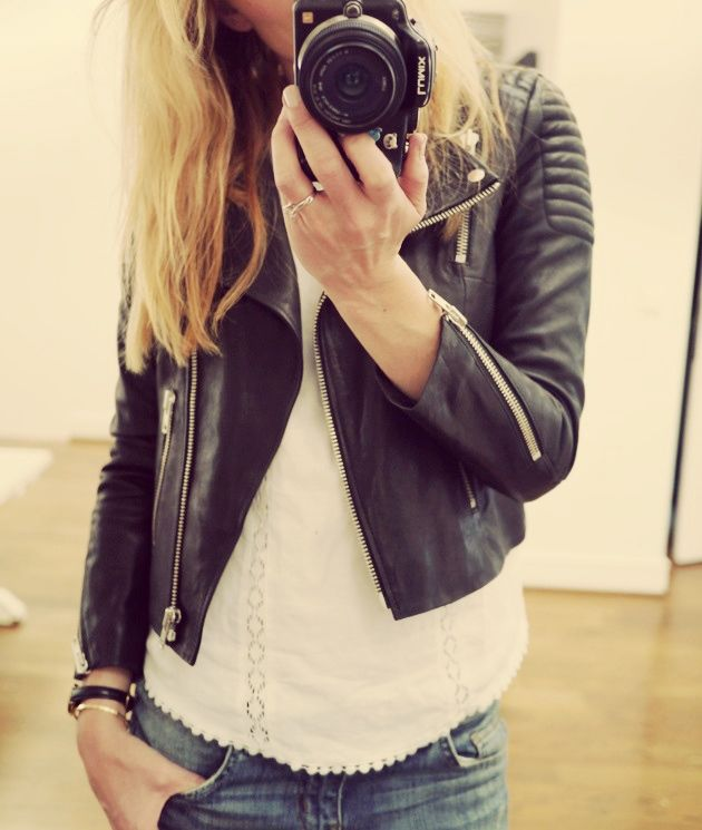 Camilla Pihl: leather & lace