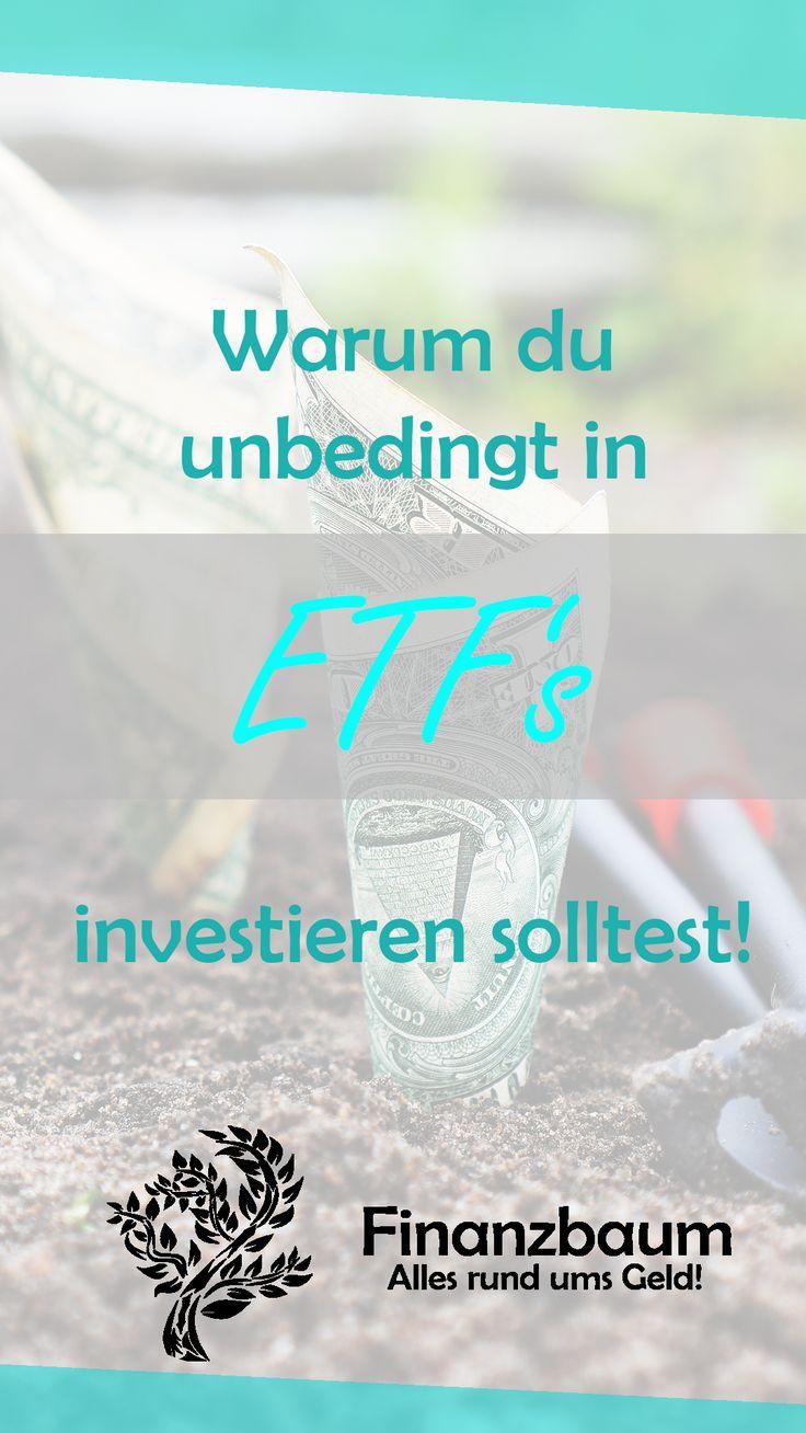 Warum du unbedingt in ETF's investieren sollte…