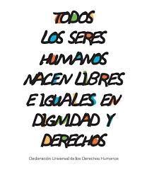 cartel de los derechos humanos ejemplos - Buscar con Google