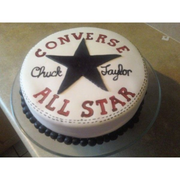 awesome converse groom's cake! Hoping my sister takes the hint :)