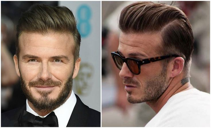 David Beckham Hair Inspiration | Check out the looks here and shop all hair products | The Idle Man | #StyleMadeEasy
