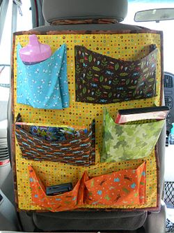 Tutorial for a Car Travel organizer for the car.