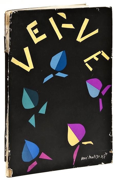Henri Matisse. Verve Vol. 8. Edited by Tériade
