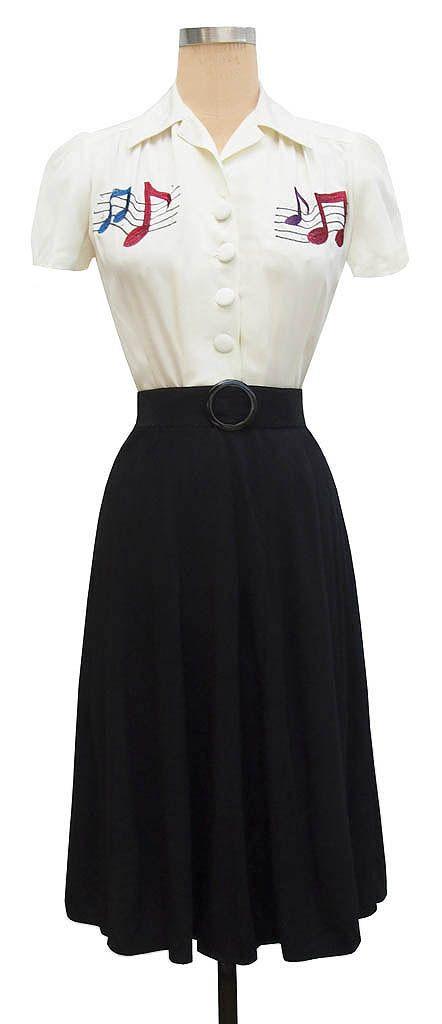 1940s style Elsa Dress