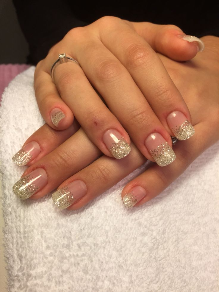 Glitter gel - BeautyForYou_bliny @ instagram / Facebook  #nails #gel #glitter