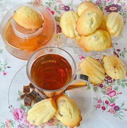 Madeleines con fragole disidratate #italianfood #recipes #strawberry