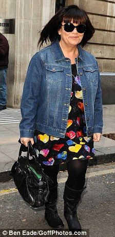 dawn french - style Love the outfit and love her!