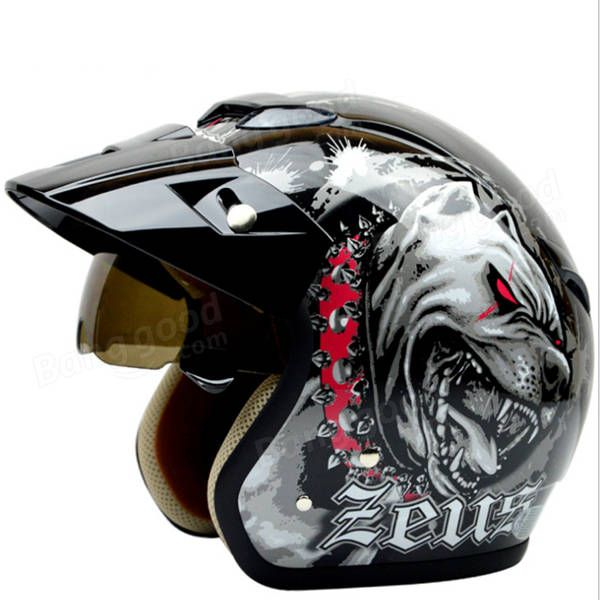 Retro Motorcycle Scooter Driving Protector Half Helmet For Zeus 381c Motorcycle Accessories Parts From Automobiles Motorcycles On Banggood Com