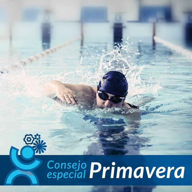 Con la llegada del buen tiempo parece que apetece más practicar deportes de  agua como la #natación. Un deporte muy completo que te recomendamos que pruebes.