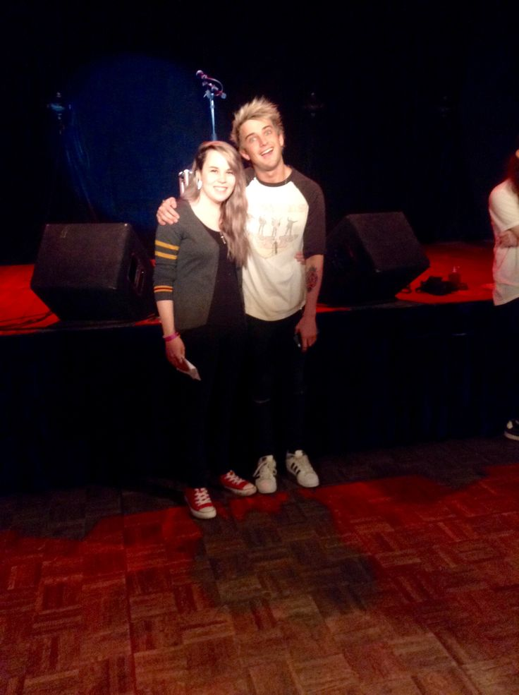 I met Dalton and he is probably one of the weirdest people I have ever met lol. In all seriousness he was really cool and nice and I really hope I can meet him again. Pt.1