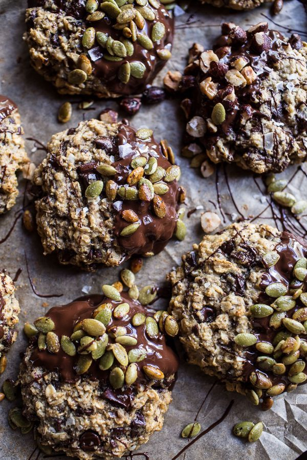 Harvest Oatmeal Chocolate Chunk Cookies with Salted Toasted Pepitas…