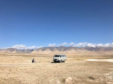 Rent a UAZ Buhanka in Kyrgyzstan