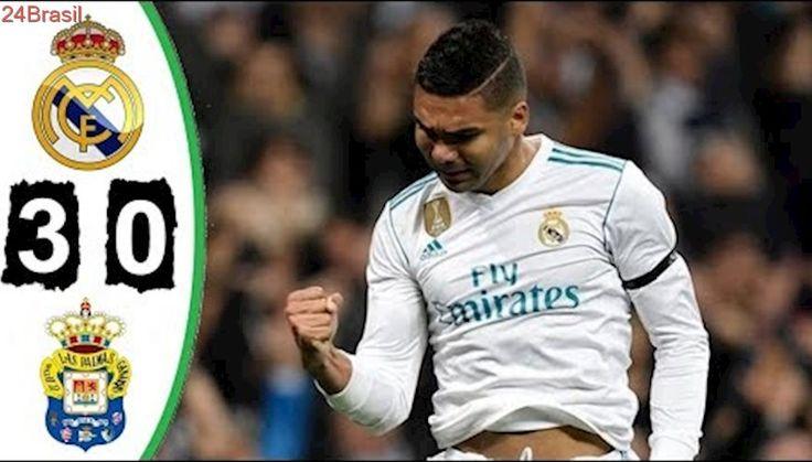 Real Madrid 3 x 0 Las Palmas - Melhores Momentos - Campeonato Espanhol 05/11/2017 HD
