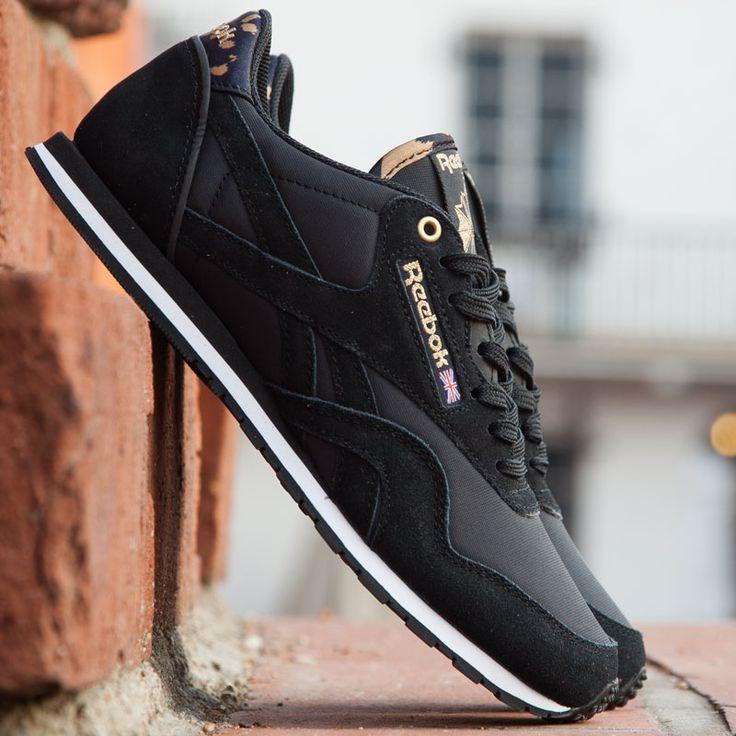Reebok Cl Nylon Slim Exotic Kadın Siyah Spor Ayakkabı (V55768) 36-37-39 Numaraları Stoklarda. 139,50TL yerine 90TL