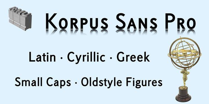Korpus Sans Pro™