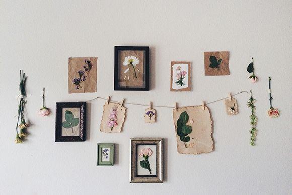 DIY Pressed Flower Prints | Free People Blog #freepeople