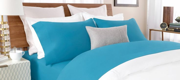 Percale bed sheets, on the other hand, is Percale linen is closely woven fabric. The thread count for percale sheet is on average is about 200 and is normally tighter than the normal weave of the sheets. #Percale #PercaleForWitner #WitnerPercaleSheets #Linen #Bedding