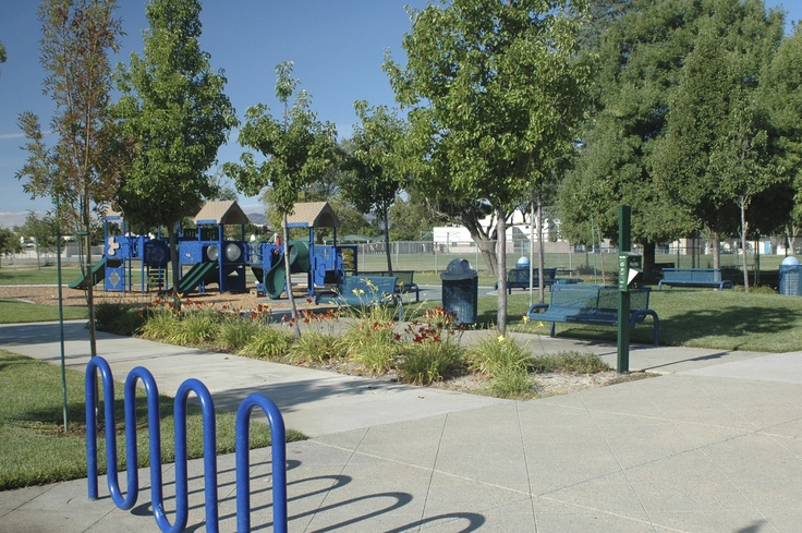 a play ground and park facilities at Edna Hill Middle School