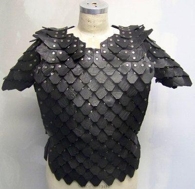 Standard Scale Armor Kit on Etsy, $290.00