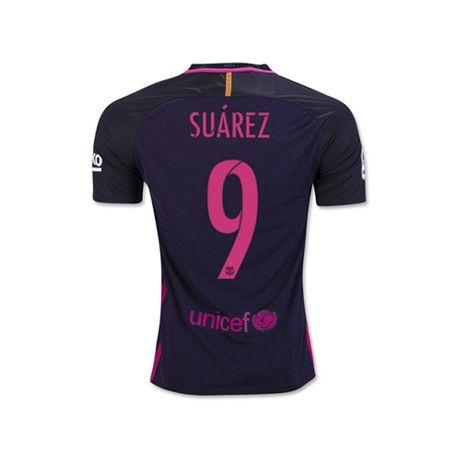 Camiseta de Suarez del FC Barcelona 2016 2017 Away