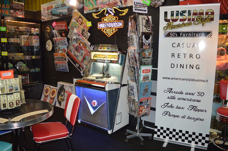 #lusima #arredoanni50 #Jukebox #Tempo1 #motorShow2014